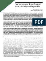 Por que sufren los equipos de profesores. entre la gestion y la cooperacion. foladori.pdf