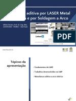 LMD - Impressão 3D de metais