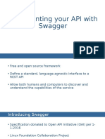 Use Swagger to Create Your API Documentation