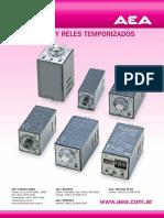 Catálogo AEA Relés temporizados