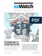 The Wrong Ways to Strengthen Culture (97.4)