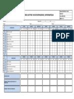 SSW-HSEQ-For-028 Check List Pre Uso de Demoledor - Rotomartillo