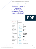 ? Diodo Zener ◁ ¿Qué es, características y para qué sirve_ — MecatrónicaLATAM