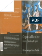 ARTIGAS Mariano y TURBON Daniel Origen Del Hombre Ciencia Filosofia y Religion 2007