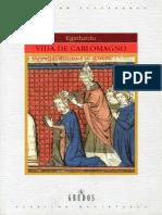 Eginhardo - Vida de Carlomagno