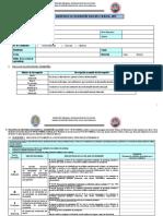 Ficha de Monitoreo Al Desempeño Docente en Aula 2019