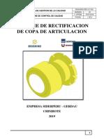 Informe de Calidad Ot - 018- 2019 - Copa de Articulacion - Final