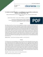 WEBER, A; WOLLFMAN, C e IENSSE, A. O estudo do ritmo climático e sua influência nos incêndios residenciais urbanos em Santa Maria – RS