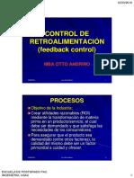 Control de Retroalimentación