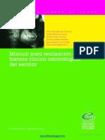 manual para realización de historia clínica
