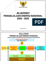 Blueprint Pengelolaan Energi Nasional 2005-2025