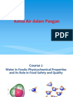 Kuliah Kimia Air Dalam Pangan
