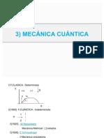 3 MECÁNICA CUÁNTICA