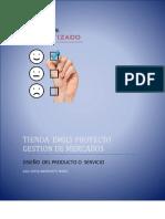 Diseño de Producto o Servicio proyecto gestion de mercados