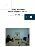 Networked community building & place-making in cities