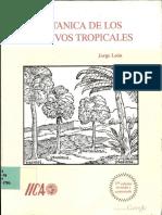 BOTANICA DE CULTIVOS TROPICALES