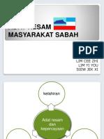 Adat Resam Masyarakat Sabah Kadazan