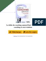 FB6O La Bible Du Coaching Aujourd039hui Tout Sur Le Coaching Et Son Volution Par David Lefrancois B005LNEEGW