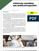 17-07-19 Hará Monterrey sondeo de normas anticorrupción