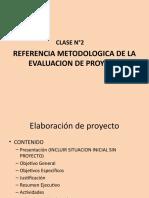 Clase Referencias Metodologicas