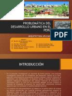 Problematica de Urbanizacion