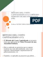 Metodo Del Costo Capitalizado