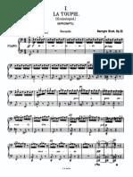Jeux d'enfants Bizet 4 mains (glissé(e)s) 1