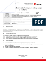 Guía de Ejercicio 3 Estática Estructural (Unidad 2) VERSIÓN ALUMNO