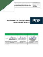 Procedimiento de Habilitacion e Instalacion de Carpinteria Metalica (2)