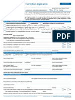 Residence Homestead Exemption Application