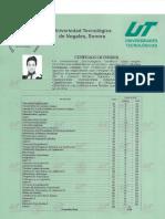 Certificado de Estudios TSU