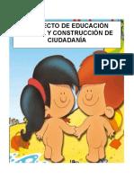 Proyecto de Educación Sexual y Construcción de Ciudadanía