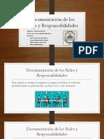 Documentación de Los Roles y Responsabilidades pmbok