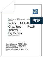 Multi Brand Retail - Big Bazaar