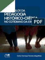 Obstáculos Da Pedagogia Histórico-crítica No Cotidiano Da Escola