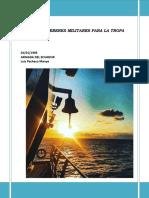 Manual de Deberes Militares para el Personal de Tropa