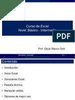 Curso Básico Excel - Oscar Blanco
