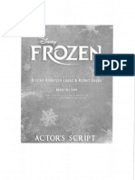 Frozen Jr Script Part 1 of 2