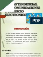 Nuevas Tendencias, Telecomunicaciones y Comercio Electrónico