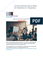 14 PowerPoint Presentation Tips to Make More Creative Slideshows.docx
