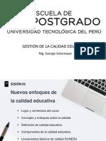 Gestión de Calidad Educativa_George Sotomayor
