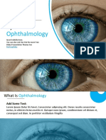 010 Biology Medical Eye Opthamologhy Google Slides Theme