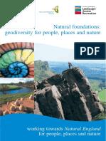Fundamentos Naturales Geodiversidad Para Personas, Lugares y Naturaleza