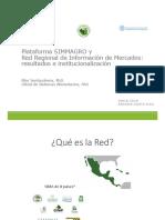 Plataforma SIMMAGRO y Red Regional de Información de Mercados