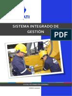 Manual Sistema Integrado de Gestión Tc 2019