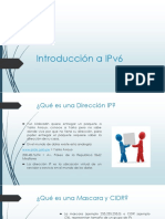 Introducción a IPv6