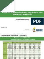 Evolución Acuerdos Comerciales Colombianos