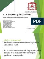 LA EMPRESA  Y LA ECONOMIA...ppt