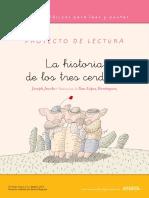 Comprension Lectura Los Tres Cerditos SEGUNDO GRADO