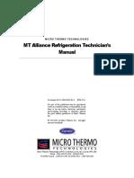 MT Alliance Refrigeration Technicians Manual